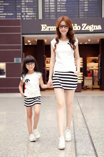 thời trang mẹ và bé